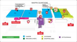 mappa salone del camper  2015
