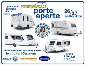 Porte aperte 26.27 sett 2015 FUSTINONI SPORT - caravan