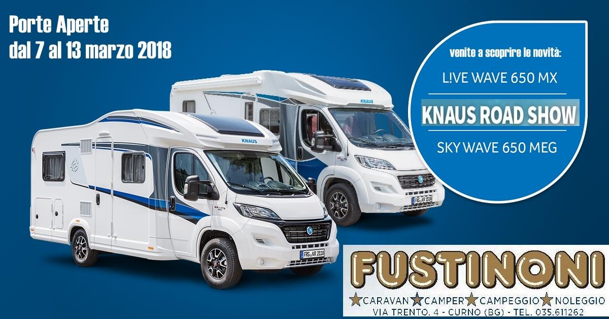 knaus road show Fustinoni Bg