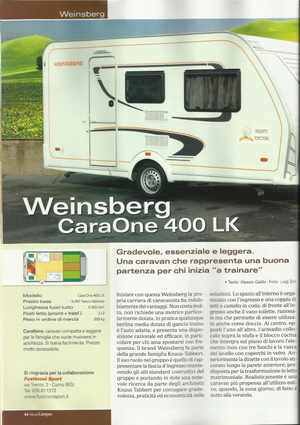 weinsberg 400 lk